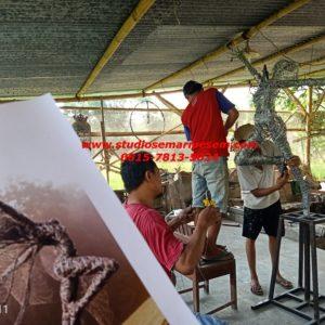 Patung Kawat Patung Kawat Sederhana Patung Kawat Pohon