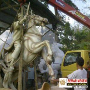 Kelik Studio Semar Mesem Patung Pangeran Diponegoro Monumen Dunia