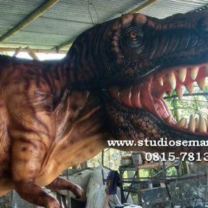 Dinosaurus Sculpture Dino Patung Bikin Patung Dinosaurus