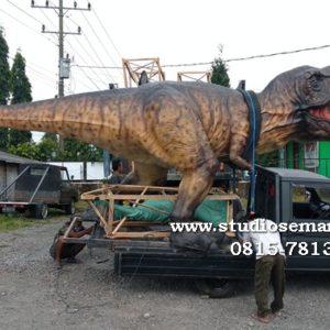 Gambar Patung Dino Patung Dinosaurus Semarang Dinosaurus Patung