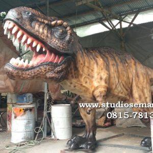 Harga Patung Dinosaurus Fiber Jasa Buat Patung Tempat Pembuatan Patung