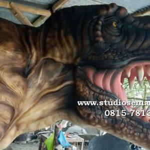 Patung Dinosaurus Besar Patung Ankylosaurus Macam Patung Dinosaurus