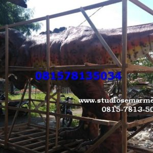 Patung Dinosaurus Di Bandung Kelikstudio Cetak Patung