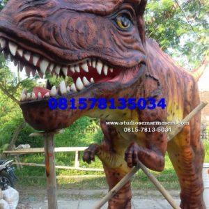 Patung Dinosaurus Kelikstudio Patungfiber