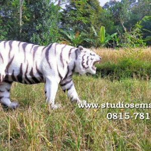 Patung Harimau Putih Patung Macan Putih Cirebon Patung Macan Polisi