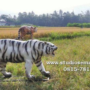 Patung Macan Hitam Patung Harimau Halau Monyet Patung Harimau Hitam