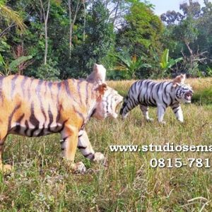 Patung Macan Putih Cirebon Patung Macan Ponorogo