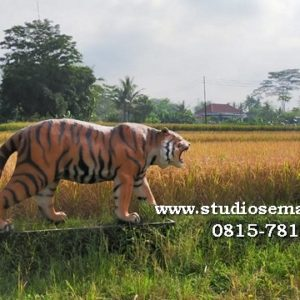 Patung Macan Rumah Patung Harimau Resin Patung Macan Siliwangi