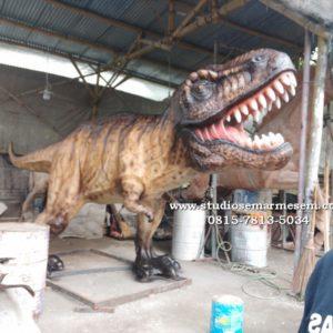Patung Stegosaurus Patung Tyranosaurus Rex Pusat Pembuatan Patung
