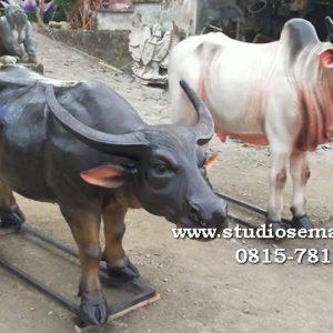 Ikon Patung Sapi Patung Gambar Sapi Patung Sapi Kulon Progo