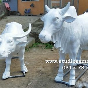 Patung Sapi Jerami Patung Sapi Kerap Di Sumenep Patung Sapi Lombok