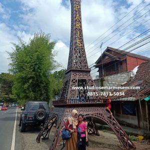 Jasa Pembuatan Miniatur Motor Replika Eiffel Tower Tukang Taman Di Jogja