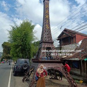 Menara Eiffel Di Gorontalo Menara Eiffel Gresik Miniatur Menara Eiffel Jawa Tengah