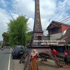 Menara Eiffel Di Jawa Tengah Menara Eiffel Karet Menara Eiffel Di Jepang
