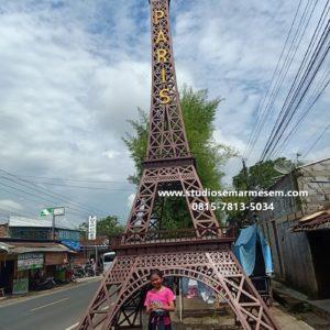 Menara Eiffel Lombok Menara Eiffel Lawang Menara Eiffel Kaca