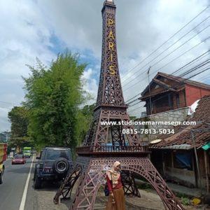 Replika Eiffel Di Tasikmalaya Tukang Taman Makassar Replika Menara Eiffel Galvalum