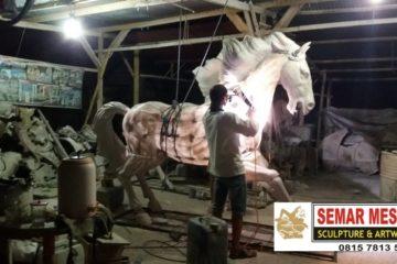 Kelik Studio Semar Mesem Pembuatan Patung Kuda Kerangka Patung