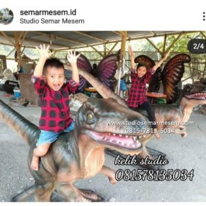 Patung Anak Dino Patung Cetak Dino Cara Bikin Patung