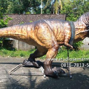 Patung Dinosaurus Tegalega Gambar Patung Dino