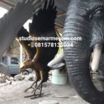 Patung Maskot Elang Jawa/081578135034