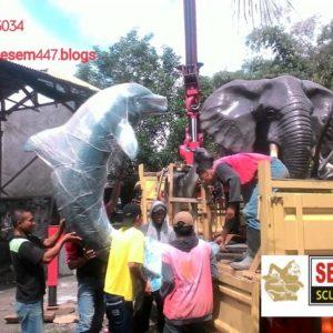Kelik Studio Semar Mesem Patung Gajah Patung Fiber Bandung