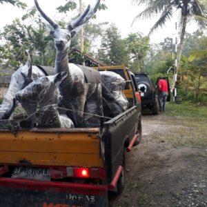 Kelik Studio Semar Mesem Patung Hiasan Waterboom Kolam Renang Marina Surabaya