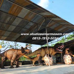 Cetak Anak Patung Anak Dinosaurus Taman Dinosaurus